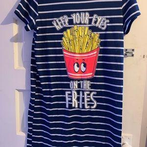 Other - Justice pajama shirt